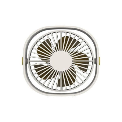 QUSHINI MINT DESK FAN-WHITE