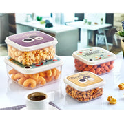 Square FUN Storage Box 4 pcs