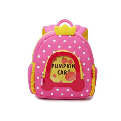 Nohoo Kids Backpack Princess Car Style Pink