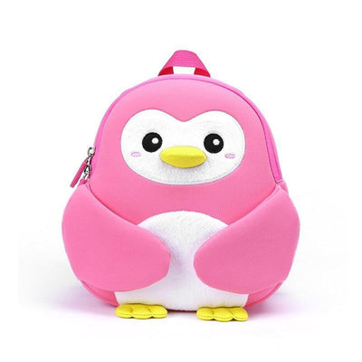 Nohoo Kids Backpack Penguin Pink