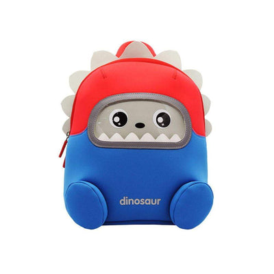 Nohoo Neoprene Kids Backpack Robot Blue