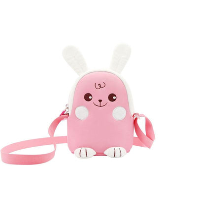Nohoo Neoprene Kids Backpack Rabbit Pink