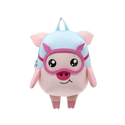 Nohoo Neoprene Kids Backpack Pig