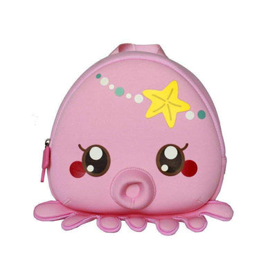 Nohoo kids backpack - Octopus Pink