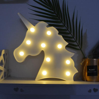 Unicorn-Head-Led-Night-Light