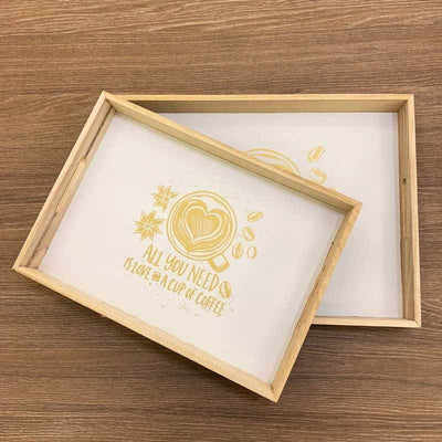 All You Need Tray – Set of 2