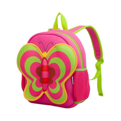 Nohoo Kids Backpack Butterfly - Pink