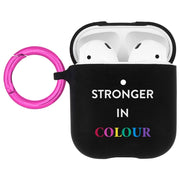 Case-Mate AirPods Hook Ups Prabal Gurung Stronger in Colour , Black