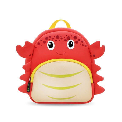 Nohoo Kids Backpack - Crab