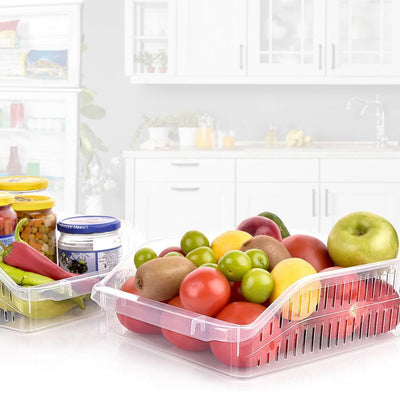 Fridge Flat Clear Organizer