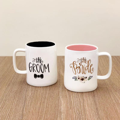 Groom Bride Mugs