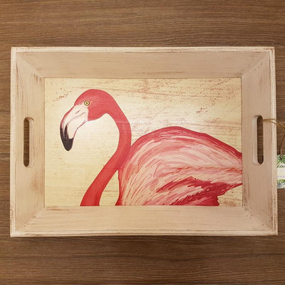 Flamingo Tray