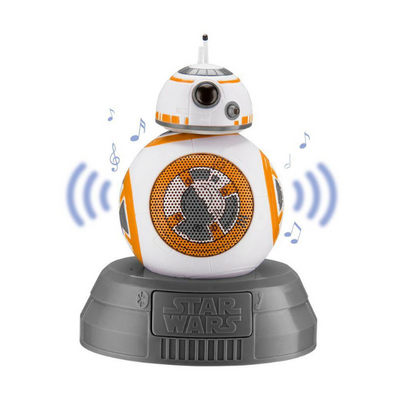 iHome Kiddesigns Bluetooth Speaker Star Wars - BB8
