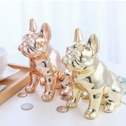 Metallic Dog Bank