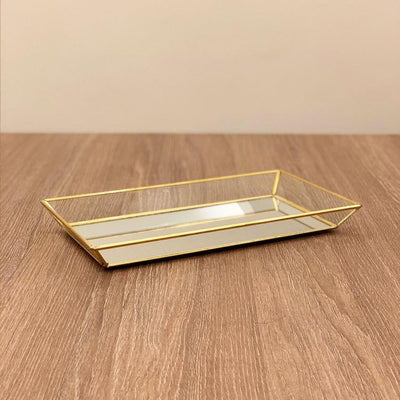 Mirror Gold Tray