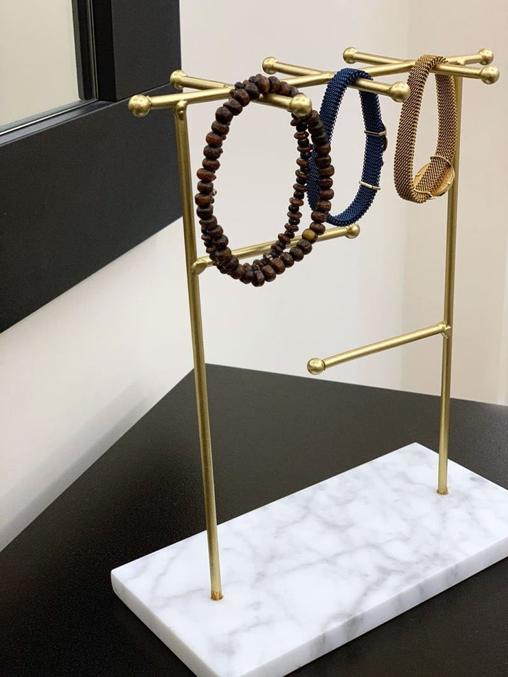 Jewelry Holder with Marble base