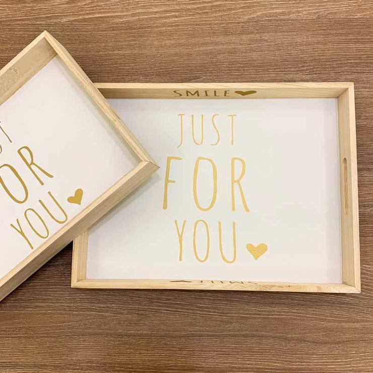 Just For You Tray – Set of 2