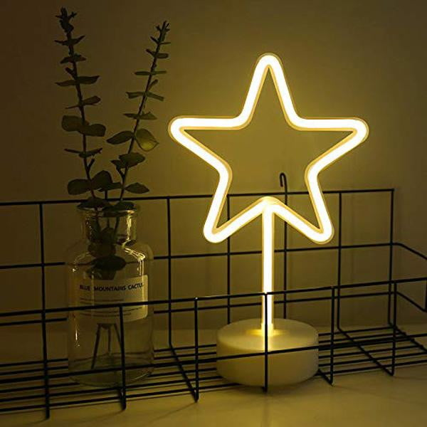 Neon LED Star Light Sign