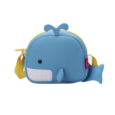 Nohoo Kids Messenger Bag - Blue Whale