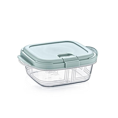 Push Up Square Microwave Storage Box 0,9 L