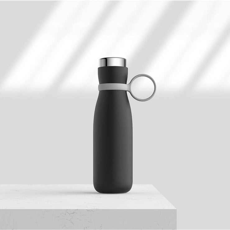 Qushini Smart Bottle with Temperature Display & Drinking Reminder