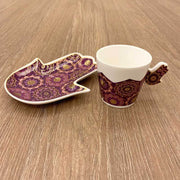 Hamsa Hand Coffee Set
