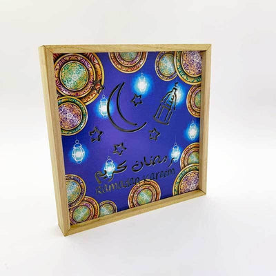 Ramadan Frame Light Decor