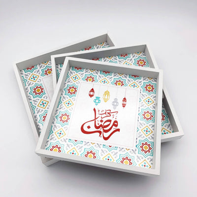 Ramadan Trays set of 3