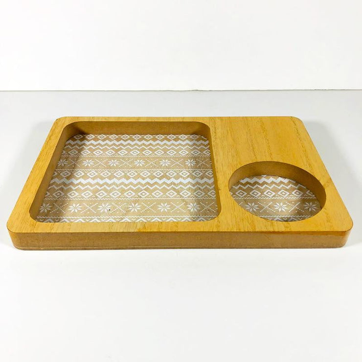 Small Wood Coffee Tray
