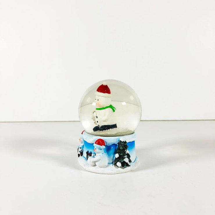 Small Christmas Crystal Ball