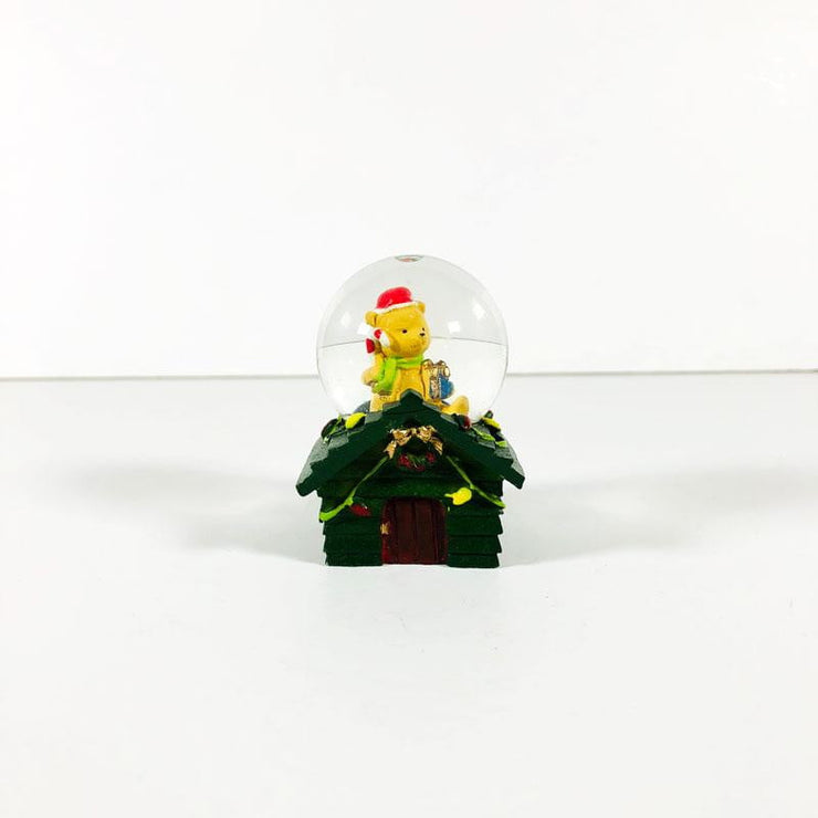 Christmas Small House Crystal Ball