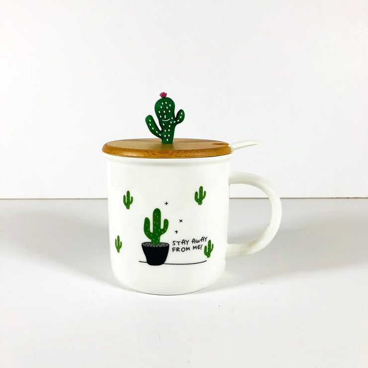 Cactus Lover Mug - 4 designs
