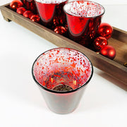 Tabletop Tray With Decorative Glasses