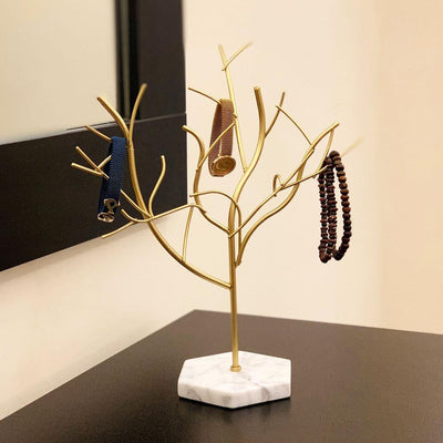 Tree Jewelry Holder Marble