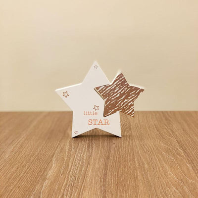 Wood Little Star