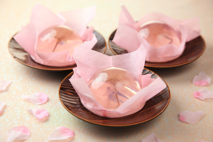How to make a beautiful Japanese Sakura Jelly?
