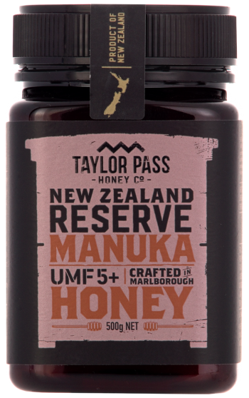 Taylor Pass Manuka Honey UMF 5+ 375g - Mamami Shoppe