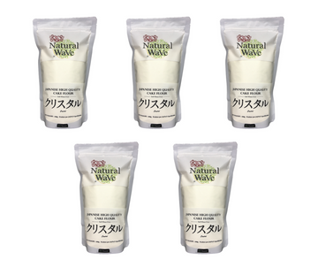 Natural Wave Japanese Cake Flour 500g x 5 - Mamami Shoppe