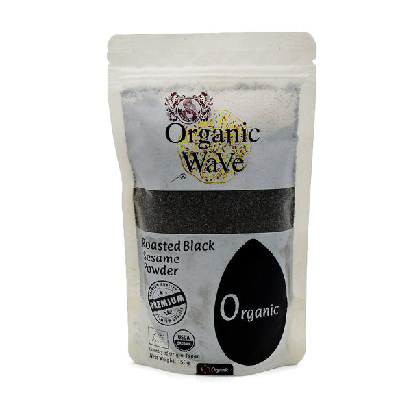 Organic Wave Organic Black Sesame Powder 150g - Mamami Shoppe