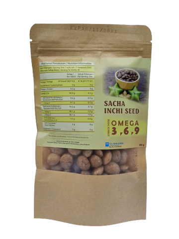 Papatan Sacha Inchi Seeds 200g - Mamami Shoppe
