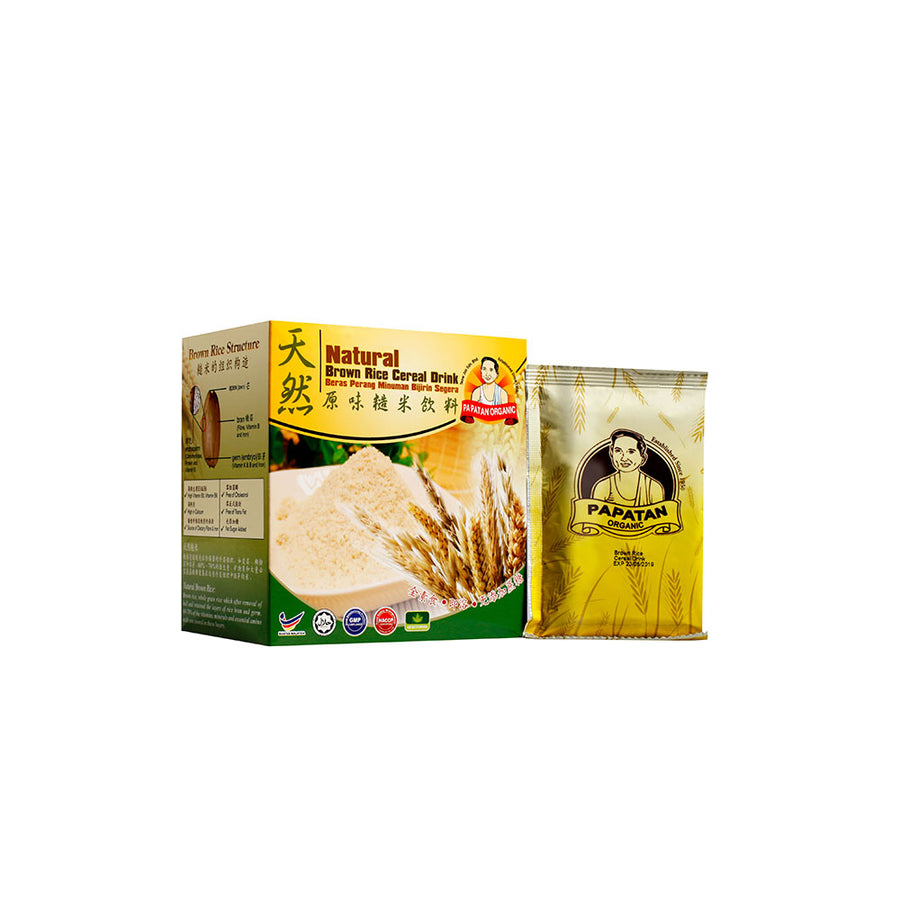 Papatan Natural Brown Rice Cereal Drink 224g - Mamami Shoppe
