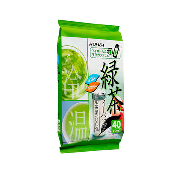 Harada Hot & Cold Green Tea 1.8g x 40 pcs (72g) - Mamami Shoppe