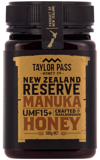 Taylor Pass Manuka Honey UMF 15+ 375g