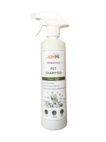 OOMMI PROBIOTIC PET SHAMPOO 500ML - Mamami Shoppe