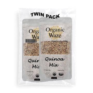 Twin Pack Organic Wave Organic Quinoa Mix 500g - Mamami Shoppe