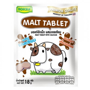 Roscela Chocolate Malt Tablet With Calcium 18g - Mamami Shoppe