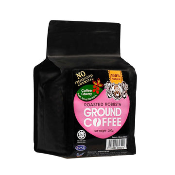 Mamami Roasted Robusta Ground Coffee Powder 250g