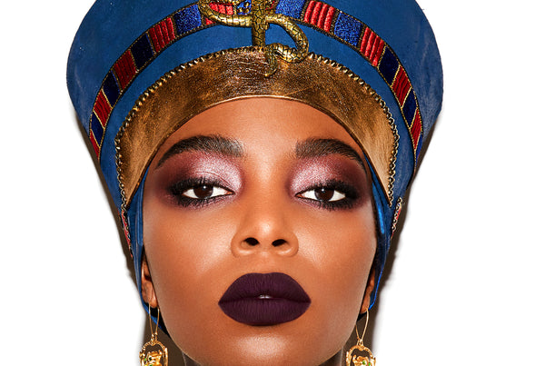 Halloqween: A Nefertiti Makeup Tutorial