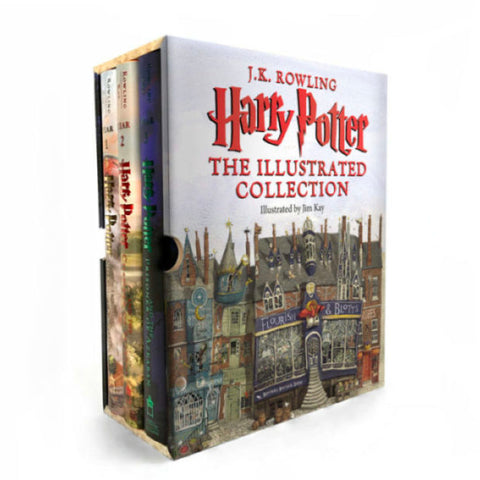 Harry Potter: The Illustrated Collection: Books 1-3