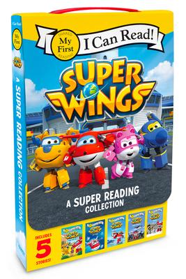 Super Wings: A Super Reading Collection: Cold Feet, A Super First Day, Lost Stars, Shark Surf Surprise, Airport Adventure